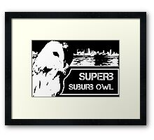 Superb Suberb Owl Framed Print