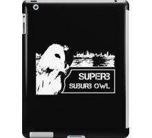 Superb Suberb Owl iPad Case/Skin