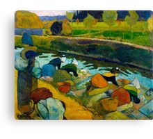 1888 - Gauguin - Washerwomen Canvas Print