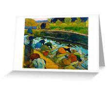 1888 - Gauguin - Washerwomen Greeting Card