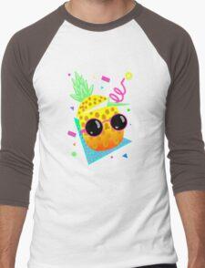 Piña Coolada Men's Baseball ¾ T-Shirt