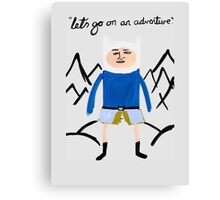 Finley the Adventurer Canvas Print
