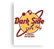 Dark Side Cafe Canvas Print