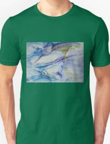 Waterspouts, Tornadoes at Sea - Original Wall Modern Abstract Art Painting Original mixed media  Unisex T-Shirt