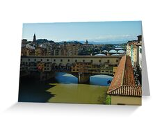 The Bridges of Florence, Italy Greeting Card