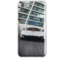 Aston Martin Vulcan at Yas Marina F1 Circuit iPhone Case/Skin