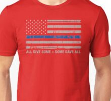Blue Lives Matter Police Support Unisex T-Shirt
