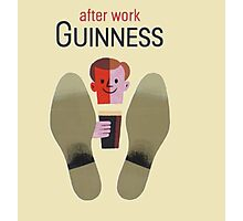 Guinness after work Guinness Photographic Print