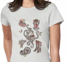 Steampunk Womens Fitted T-Shirt