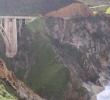 Bixby Bridge - Big Sur - California USA Sticker