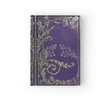 Blue and Silver Thistles Hardcover Journal