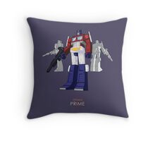 Optimus Prime - (mix) - dark T-shirt Throw Pillow