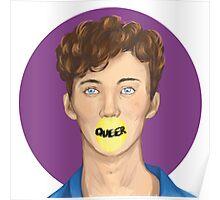 Troye Sivan (brush test) Poster