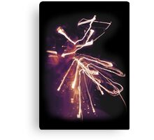 When Sparks Fly Canvas Print