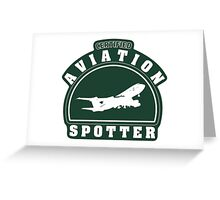 Aviation spotter certified Greeting Card