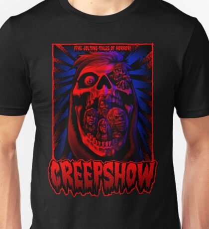 Five Jolting Tales of Horror! Unisex T-Shirt
