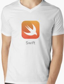 Swift Apple Mens V-Neck T-Shirt