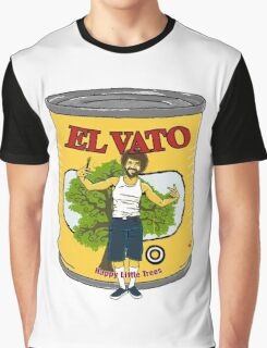 El Vato - Happy Little Trees Graphic T-Shirt