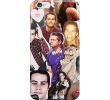 Dylan O'bae (O'brien) fangirl tumblr edit collage iPhone Case/Skin