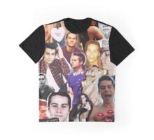 Dylan O'bae (O'brien) fangirl tumblr edit collage Graphic T-Shirt