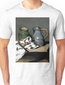 1869 - Paul Cezanne - Still life with kettle Unisex T-Shirt