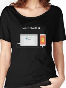 Learn How to Swift  Women's Relaxed Fit T-Shirt
