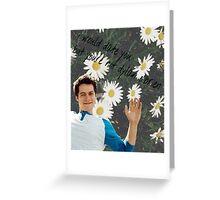 Dylan O'bae (O'brien) fangirl tumblr edit collage Greeting Card