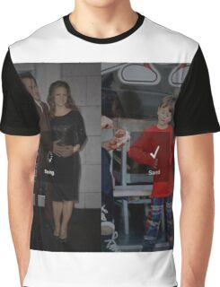 Robert Downey Jr. fangirl edit with exton and susan (team downey) Graphic T-Shirt