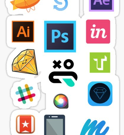 UI Design Stack Sticker