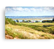 view over Hiddensee Canvas Print