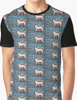 Jack Russell Terrier at the Beach Graphic T-Shirt