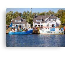 Vitte Harbour Canvas Print