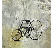 Vintage Tricycle Photographic Print