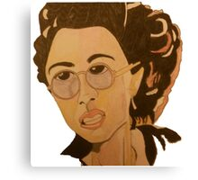 Helena G Wells Caricature Canvas Print