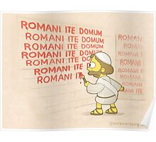 Romans go home! Poster