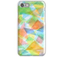 Red Triangles and their Friends iPhone Case/Skin
