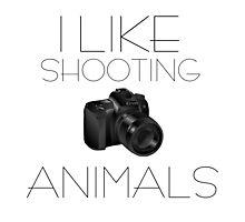 Photography Camera Animals PETA Funny Nature Photography Photographic Print