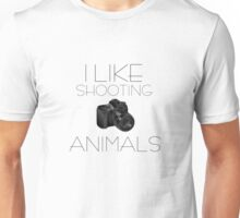 Photography Camera Animals PETA Funny Nature Photography Unisex T-Shirt