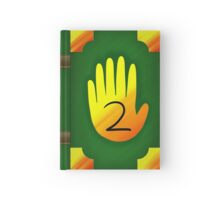 Gravity Falls Inspired Handprint Journal 2, GREEN Hardcover Journal
