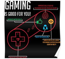 Gaming is Good for You! Poster