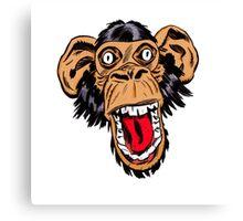 Graphic Chimp Coloured Canvas Print