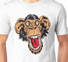 Graphic Chimp Coloured Unisex T-Shirt