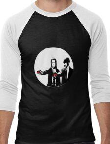 PokePulp Men's Baseball ¾ T-Shirt