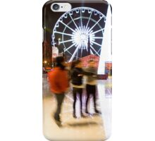 Skating rink, Christmas market, Brussels. Belgium iPhone Case/Skin
