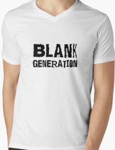 Blank Generation Punk Rock Richard Hell 80s Song Lyrics Mens V-Neck T-Shirt