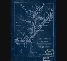 American Revolutionary War Era Maps 1750-1786 362 Cape Fear River with the counties adjacent and the towns of Brunswick and Wilmington against which Lord Inverted Unisex T-Shirt