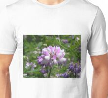 Purple Crown Vetch Unisex T-Shirt
