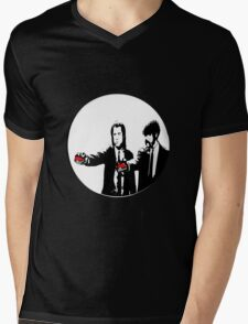 Pokèfiction Mens V-Neck T-Shirt