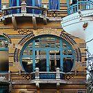Boat Balcony - Antwerp by Gilberte