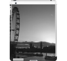 London...London Eye...Thames...blink of a moment...caught it... iPad Case/Skin